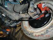 Polo 86c und 2F Handbremsseile für eine Scheibenbremse hi. Plug & Play! - Bild 2