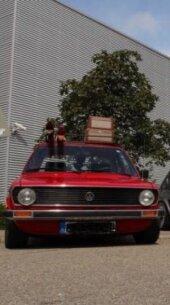 VW Derby 1, marsrot, H-Kennzeichen, Gewindefahrwerk - Bild 2
