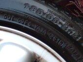 7xIndianapolis Alufelgen mit Reifen - Bild 1