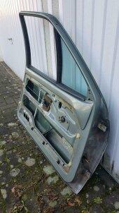 Tür Fahrertür VW Volkswagen Polo 86C GT Coupé jadegrün LN6V - Bild 2